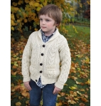 Boys Shawl Cardigan (100% Merino Wool)